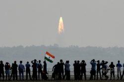 インド スリハリコタの宇宙センター ロケット