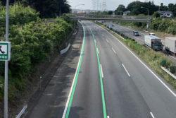 関越自動車道 緑色の実線
